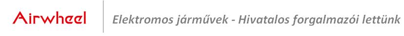 Airwheel - elektromos járművek hivatalos forgalmazó