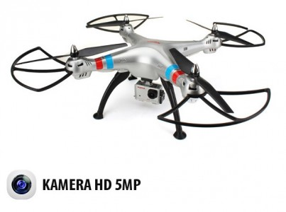 Syma: Syma X8G 2.4GHz (kamera HD 5MP, radio 2.4GHz, zasięg do 100m)
