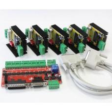 Öt tengelyes léptetőmotor vezérlő csomag