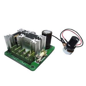 PWM-es DC kefés motor szabályzó áramkör