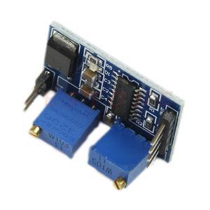 PWM vezérlő modul áramkör, állítható frekvencia