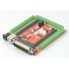 USB/LPT csatoló kártya 6 tengely, 19/7 IO, MACH3