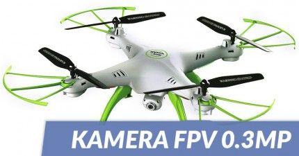 Syma: Syma X5HW (2MP FPV camera, 2.4GHz, hovering, range to 50m)