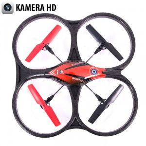 WL: Quadcopter V606K 2.4GHz (HD 720p camera, 6-axis gyro, 2GB memory card, range to 10