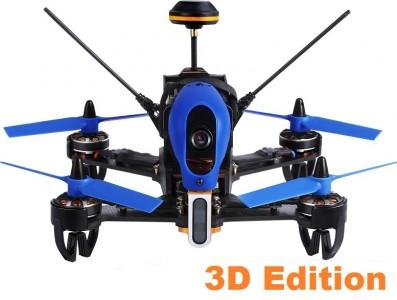 Walkera: Walkera F210 3D Edition (Devo 7, kamera HD 700TVL, FPV, OSD, zasięg 800m)