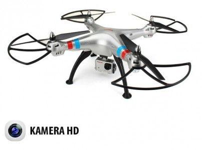 Syma: Syma X8G 2.4GHz (5MP HD camera, 2.4GHz transmitter, range to 100m)
