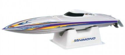 Aquacraft Models: MiniMono Raceboat 2.4GHz ARTR (hossz 40cm, radio 2,4GHz, kefenélküli brushless motor, LiPo akku)