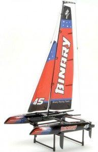 Joysway: Binary Catamaran 2CH 2.4GHz RTR