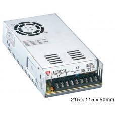 Stabilizált tápegység 230V/12V 250W