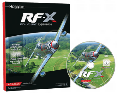 Great Planes: Symulator Realflight RF-X Software Only Version - Upgrade Disk