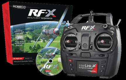 Great Planes: Symulator Realflight RF-X, InterLink-X kontrollerrel