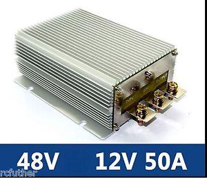 Water Proof DC DC Converter Regulator Reducer 48V Down to 12V 50A