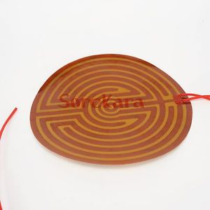160mm 110W 12V DC Round Eeletric Polyimide Film Heater element for 3D Printer