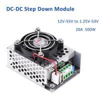 12V-55V to 1.25V-53V Le konvertáló DC-DC, USB kimenet is