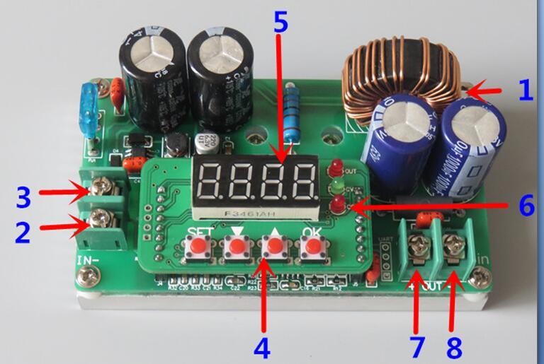 400W DC-DC konverter