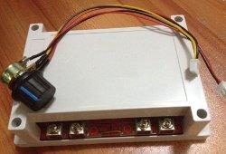 DC motor PWM vezérlő (dobozolt)