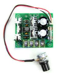 DC motor sebesség szabályzó, PWM vezérlő
