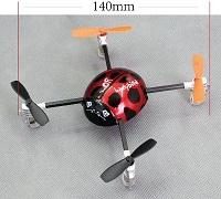 Mini Quadrocopter, QR Ladybird V2