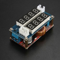 DC-DC konverter, digitális feszültség és áram kijelzéssel
