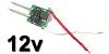 3W LED meghajtó áramkör DC 12V