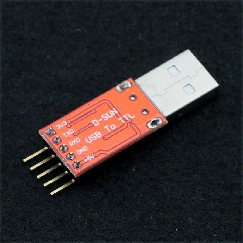 USB - RS232 soros port átalakító TTL szintű - CP2102